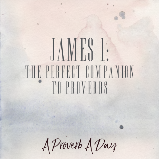 James 1: The Perfect Companion to Proverbs